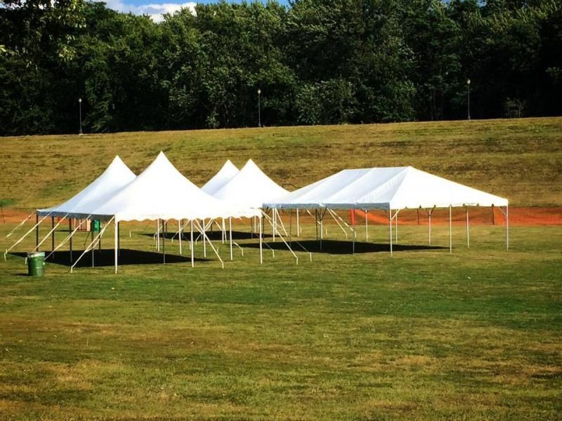 Above are 3 Tent Sizes 10 x 20... 20 x 40..u0026 40 x 60....we can cover any Sq. Footage for your Event. & Pocono Catering - Tent Rental